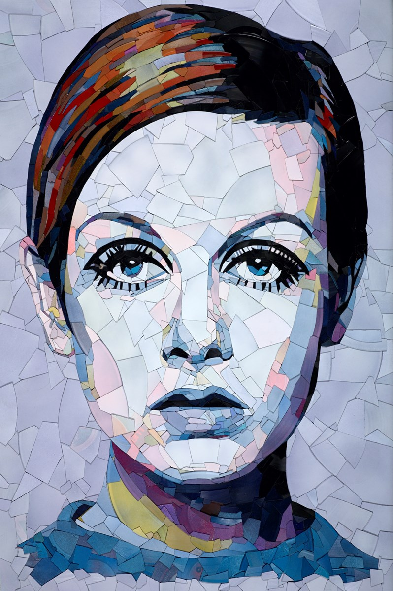 Twiggy by ed chapman -  sized 28x41 inches. Available from Whitewall Galleries